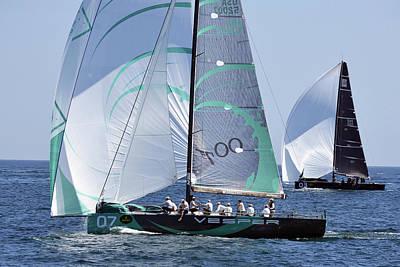 Photograph - Rolex Capri Sailing Week 2014 by Harvey Barrison