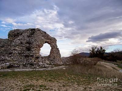 Roman Ruins Art Print by Judy Kirouac