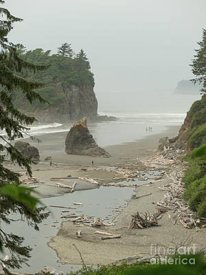 Photograph - Ruby Beach by Rod Jones