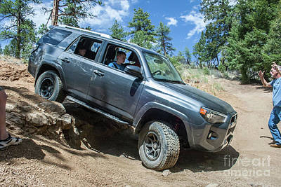 Photograph - 4 Runner by Tony Baca