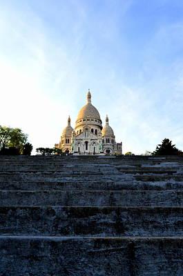 Photograph - Sacre Coeur by Riad Belhimer