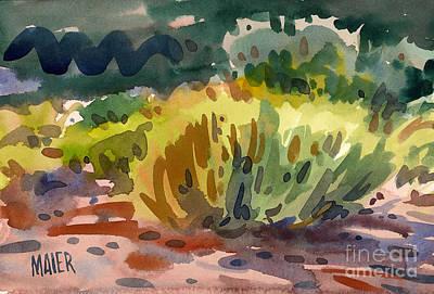 Sagebrush Painting - Sage by Donald Maier