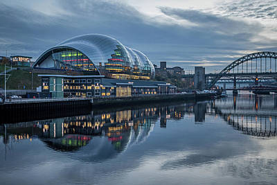 Photograph - Sage Gateshead by David Pringle