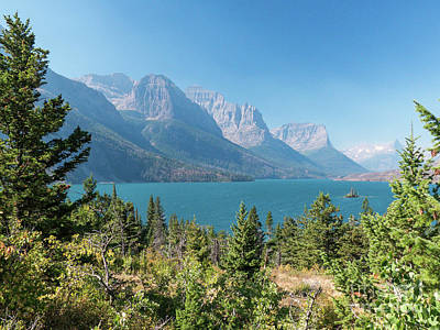 Photograph - Saint Mary Lake by Rod Jones
