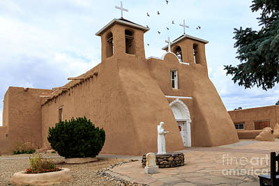 Photograph - San Francisco De Assisi Mission Church  by Richard Smith