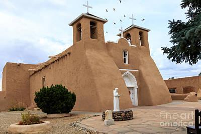 Photograph - San Francisco De Assisi Mission Church  by Richard Smith