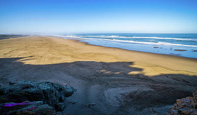 Photograph - Sand Shore And Ocean In San Francisco  by Alex Grichenko