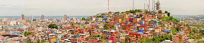 1920s Flapper Girl - Santa Ana hill in Guayaquil, Ecuador. by Marek Poplawski