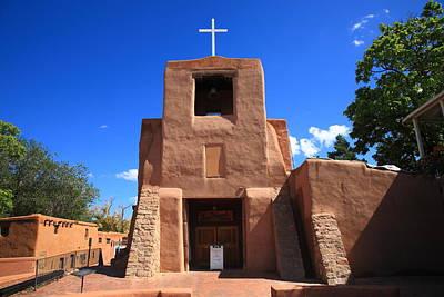 Photograph - Santa Fe - San Miguel Chapel by Frank Romeo