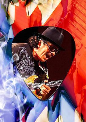 Santana Art Art Print