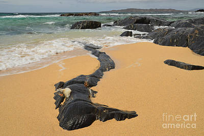 Isle Of Harris Wall Art - Photograph - Scarista by Smart Aviation