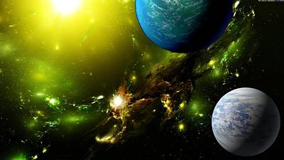 Science Fiction Digital Art - Sci Fi by Super Lovely