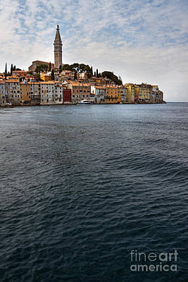 City Scene Mixed Media - Seaside Town by Svetlana Sewell