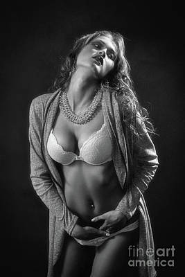 Orgasm Photograph - Sensual Aroused Woman by Aleksey Tugolukov