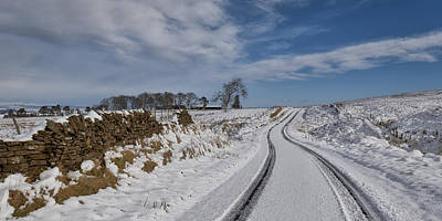 Photograph - Sheriffmuir Road by Jeremy Lavender Photography