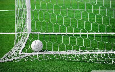 Sports Maze Digital Art - Soccer by Dorothy Binder