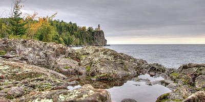 Photograph - Split Rock Lighthouse by Steve Stuller