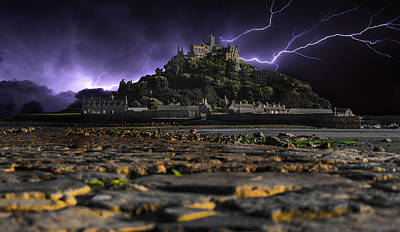 St Michaels Mount Art Print by Martin Newman
