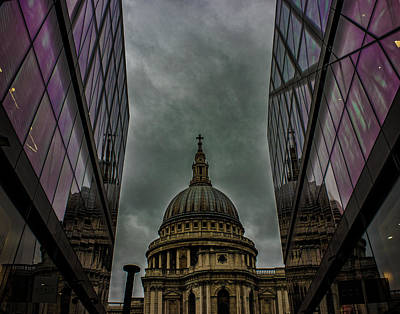 St Pauls Cathedral Photograph - St Paul's Cathedral by Martin Newman