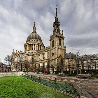 Photograph - St Pauls Cathedral by Shirley Mitchell