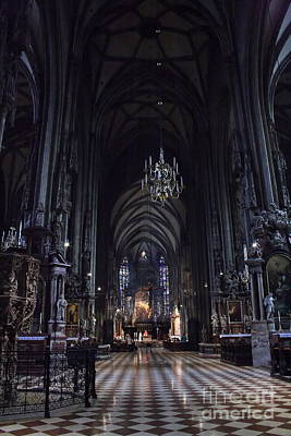 Photograph - St Stephens Cathedral Vienna by Angela Rath