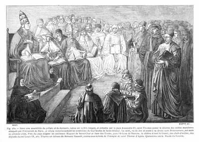 Clergy Photograph - St. Thomas Aquinas by Granger
