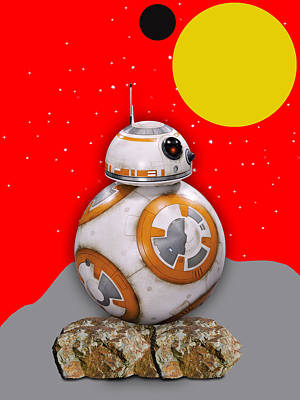 Star Wars Bb8 Collection Art Print