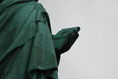 Statue Of Liberty Art Print by Craig Fildes