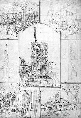 Photograph - Statue Of Liberty, Paris by Granger