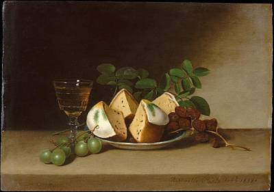 Still Life With Cake Original by Raphaelle Peale