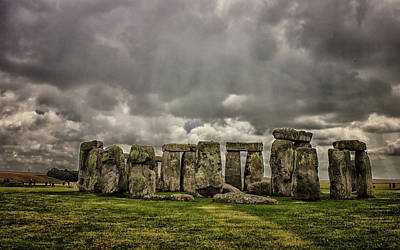 Megalithic Photograph - Stonehenge by Martin Newman