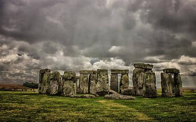 Stonehenge Art Print by Martin Newman