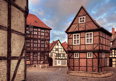 Er Photograph - Streets Of Quedlinburg by Steffen Gierok