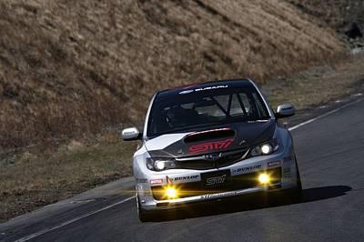 Subaru Rally Impreza Wrx Sti                  Art Print