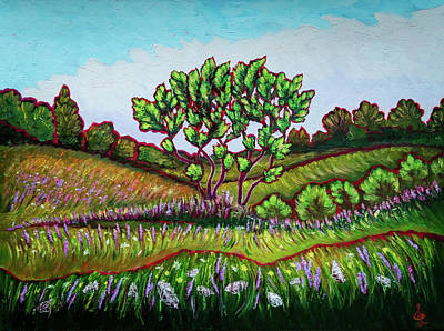Painting - Summer Meadow by Lilia D