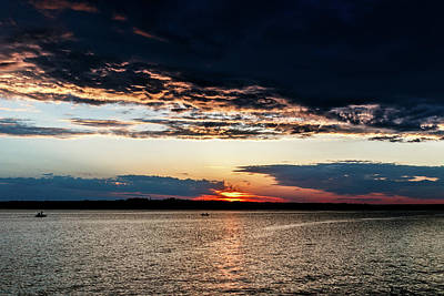 Photograph - Sun Going Down by Doug Long