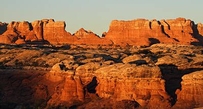 Fun Patterns - Sunrise at The Needles in Canyonlands National Park by Pierre Leclerc Photography