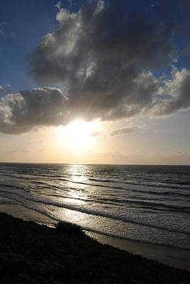Photograph - Sunset At Jaffa Beach 13 by Isam Awad