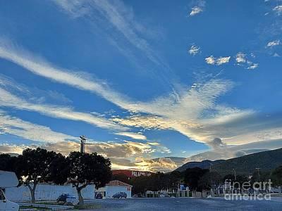 Photograph - Sunset In Torremolinos by Chani Demuijlder