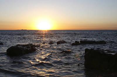 Photograph - Sunset by Masami Iida