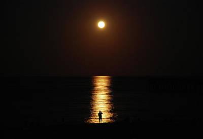 Photograph - 4- Super Moon by Joseph Keane