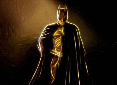 Superman Digital Art - Superman Vs Batman Poster by Egor Vysockiy