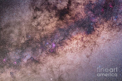 The Center Of The Milky Way Art Print