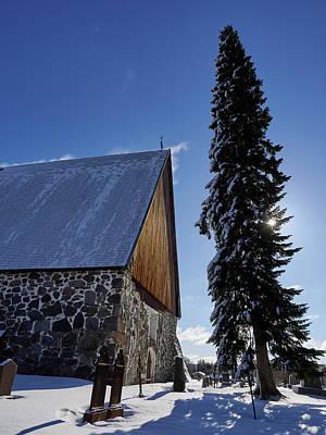 Photograph - The Church Of St Mary In Sastamala by Jouko Lehto