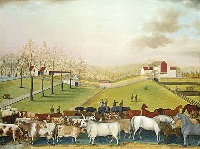 Painting - The Cornell Farm by Edward Hicks