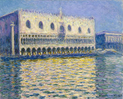 Painting - The Doge's Palace  by Claude Monet
