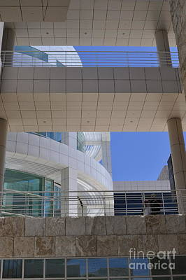 Photograph - The Getty by Clayton Bruster