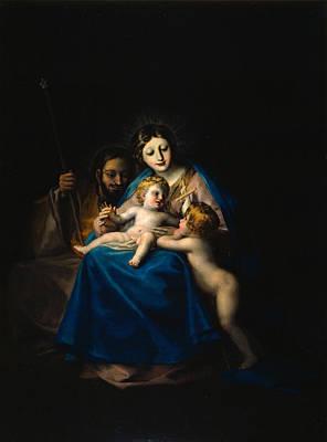 The Holy Family Art Print by Francisco Goya