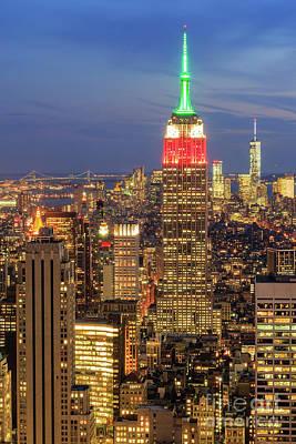 Kim Fearheiley Photography - The New York City skyline by Chon Kit Leong