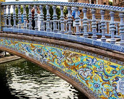 The Plaza De Espana - Seville - Spain Art Print by Jon Berghoff